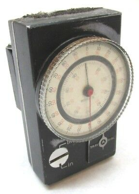 Swi Trav-a-dial Inch Metric Travel Dial Readout W Mounting Base - 7s