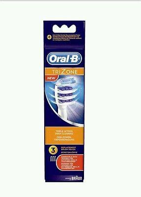 Oral-B TriZone Aufsteckbürsten, 3er Pack Aufsteckbürsten Original)