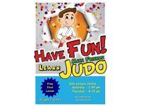 JUDO LESSONS