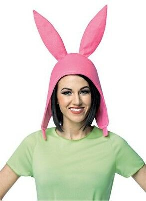Louise Deluxe Hut Bob's Burgers Kaninchenohren Pink Kostüm Tv-Show - Bob's Burgers Kostüm