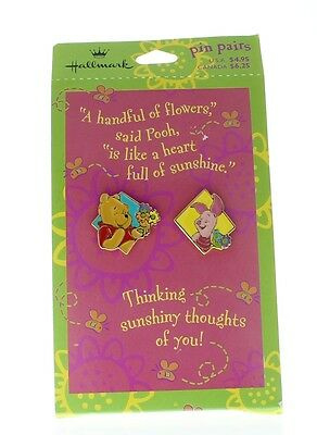 Hallmark Winnie the Pooh and Piglet Too Duo Hat Lapel Pin Set - Pooh And Piglet Costumes