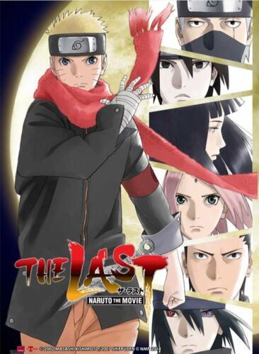 Naruto The Movie The Last 3D Lenticular Wall Art Poster Picture YA3D0001