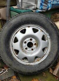Honda crv spare wheel