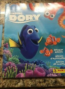Finding Dory- Panini sticker book