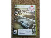Need for Speed most wanted x xbox 360