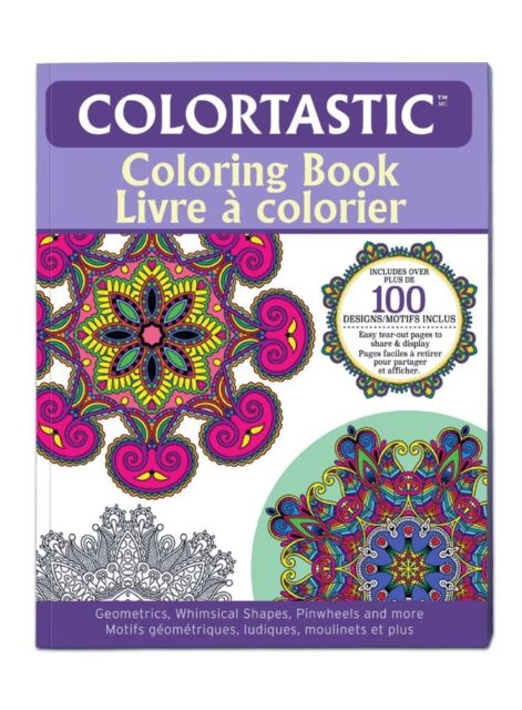 Colortastic 9960 Coloring Book For Grown UPS Adults As Seen On