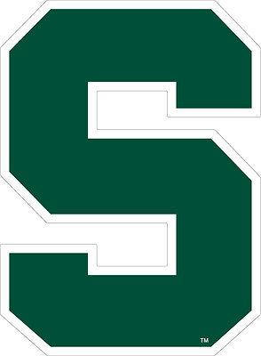 MSU MICHIGAN STATE SPARTANS Large Logo Decal - Michigan State Spartans Logo
