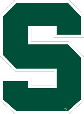 Msu Michigan State University Spartans X Large Super Size Decal
