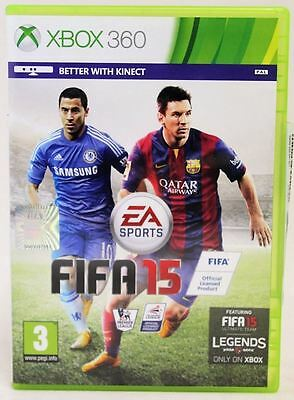 Fifa 15 Xbox 360 Ea Sports Multiplayer Kinect Ultimate Team Pal Video Game