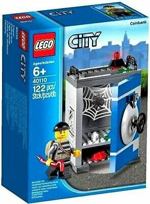 Retired LEGO CITY Set 40110 Coin Bank New & Factory Sealed