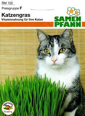Katzengras - (EUR 6,50/100 g) Vitaminnahrung Hafer & Wiesenlieschgras 30g Samen
