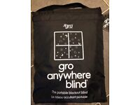 2 x gro anywhere black out blinds
