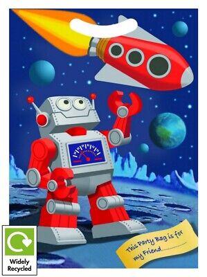 Raum Roboter Rakete Geburtstagsparty Taschen ~ Recyclebar Beute Behandeln (Beute Rakete)