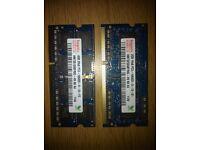 6 GB (2+4 GB) DDR3 Laptop memory RAM