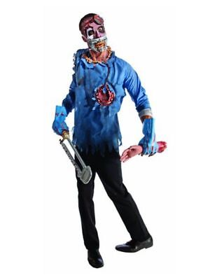 Scary Doctor Halloween Costumes (Rubies Zombies Mens Zombie Doctor Costume Scary Adult Sized Dr)