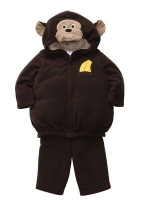 Carters Infant Monkey Costume Baby Boys Girls Hoody Jacket Sweat Pants](Boys Monkey Costume)