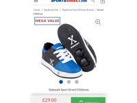 Boys Heeley type shoes
