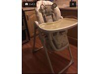 Bear high chair