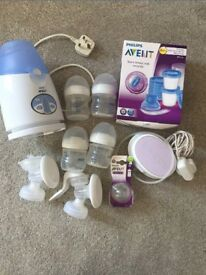 Philips avent breast pump bundle