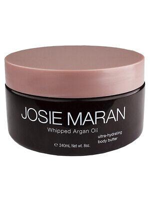 Josie Maran Whipped Argan Oil Body Butter - Light Bronze Vanilla Peach, 8oz