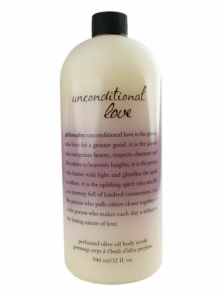 Philosophy Unconditional Love Olive Oil Body Scrub Sealed 32