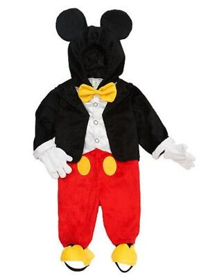 Toddler Boys Mickey Mouse Costume (Disney Infant & Toddler Boys Mickey Mouse Costume Jumper with Mouse Ears)