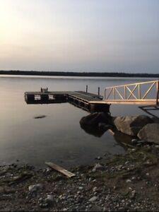 Lakefront whiteshell cabin for rent