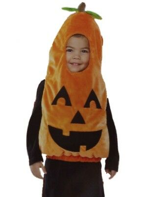 Infant & Toddler Boys & Girls Plush Orange Hooded Pumpkin Costume Jumper](Pumpkin Costume Toddler Girl)