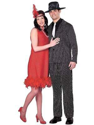 Womens 1920's Flapper Halloween Costume Headpiece, Necklace & Dress Small](A Flapper Halloween Costume)
