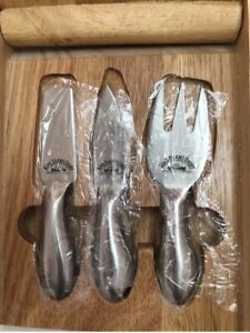 King Island Dairy Cheese Knives x 3 Knife Board Box Platter Gift Windsor Stonnington Area Preview