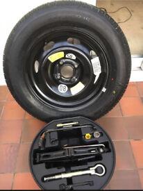 Citroen C4 2004-2009 Michelin Spare Wheel Kit 195/65 R15