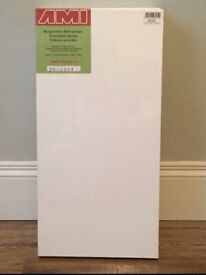 3 x Artists' Stretched Canvas' 30x60cm. (New. Ex Shop Stock)
