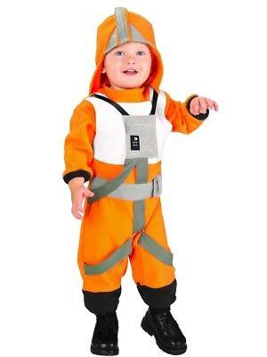 Star Wars Toddler Boys X-Wing Rebel Fighter Pilot Costume Jumpsuit & Hat - Star Wars Rebel Pilot Costume