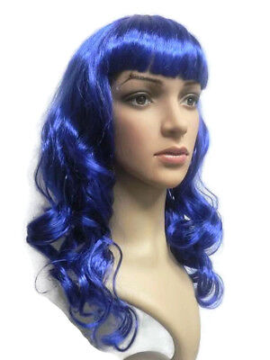 Katy Perry Costume California Girls Candyland Blue Wig - Katy Perry California Girls Costume