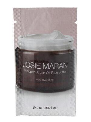 Josie Maran Whipped Argan Oil Face Butter - Unscented, 0.06oz Sample Pouch