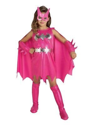 DC Comics Toddler Girls Pink Batgirl Costume Bat Girl 2T-4T - Batgirl Costume Toddler Girl