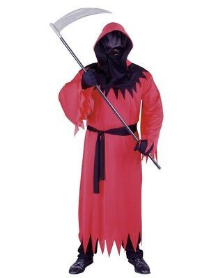 Fun World Mens Red Unknown Phantom Costume with One-Way Mesh Mask](Fun Costume)