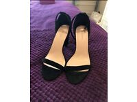 Size 7 Black heels