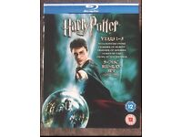 Harry Potter blu-ray 1-5