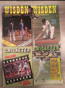 Cricket Magazines 1970's-1980's Midway Point Sorell Area Preview