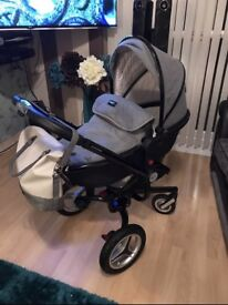Silver Cross Surf Special Edition Eton Grey (Can Deliver)