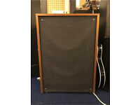 Vintage Speaker Cabinet with Amp