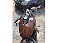 Yamaha XVS Bobber 650