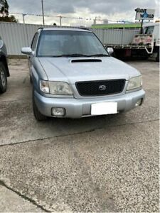 2001 Subaru Forester MY01 GT Silver 4 Speed Automatic Wagon Campbellfield Hume Area Preview