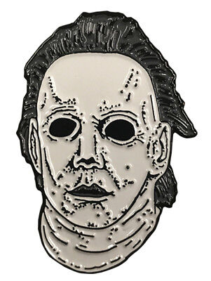 Authentic HALLOWEEN 6 The Curse of Michael Myers Mask Enamel Pin - Halloween Curse Of Michael Myers Mask