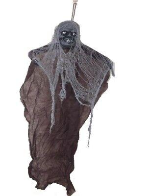 Wandbehang Zombie Mann 122cm - Halloween-Party Dekoration - (Zombie Mann Kostüm)