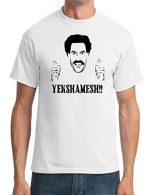 (Borat - Yekshamesh - Funny Comesy - Mens T-Shirt)