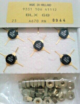 2 Pieza BLX68 Amplificador Transistores Philips (Vintage), usado segunda mano  Embacar hacia Mexico