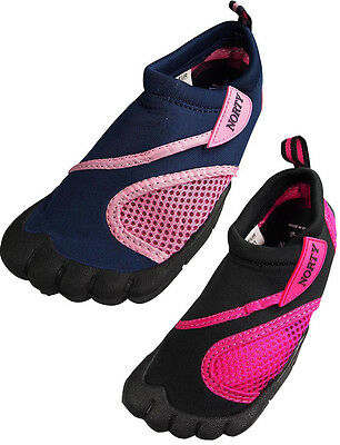 Norty Girls / Toddler Aqua Water Socks Waterproof Slip-on Sh