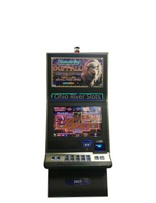 IGT G23 Slot Machine Thundering Buffalo (Ticket Printer, Coinless)